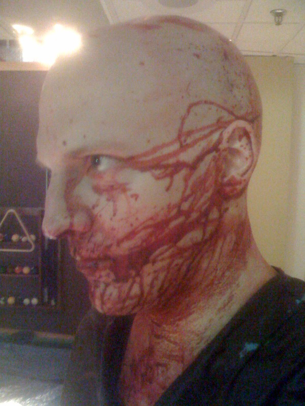 Horror Movie Makeup Artist in Chicago