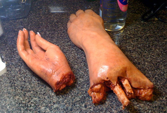 Severed Limbs Makeup Effects in Chicago