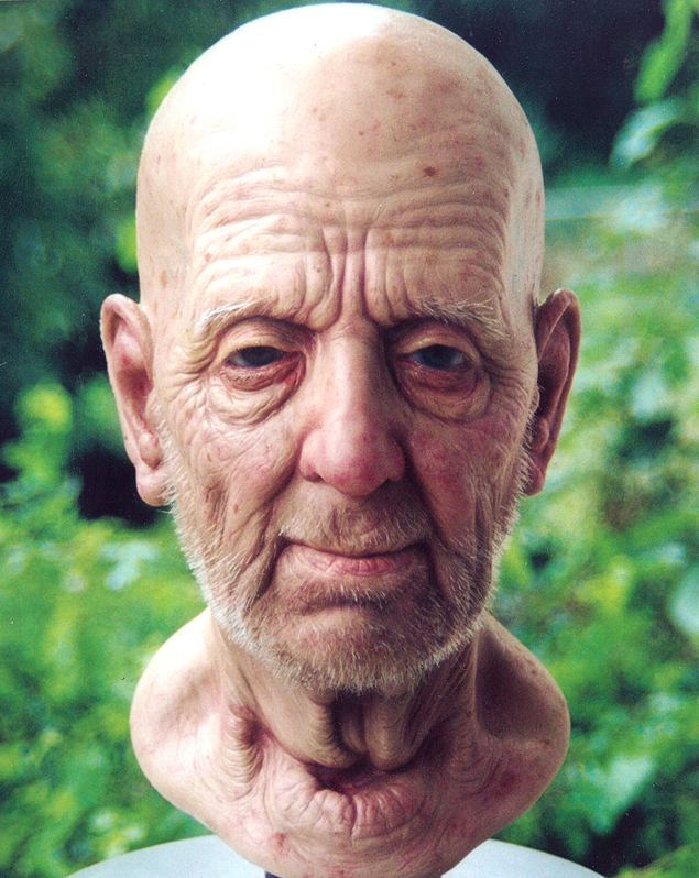 Old Age Makeup Effects by Chicago Artist Ken Hertlein
