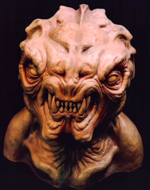 Sci-Fi Monster Special Effects Makeup